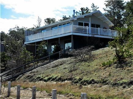Wellfleet Cape Cod vacation rental - Wrap around deck and water views from all rooms