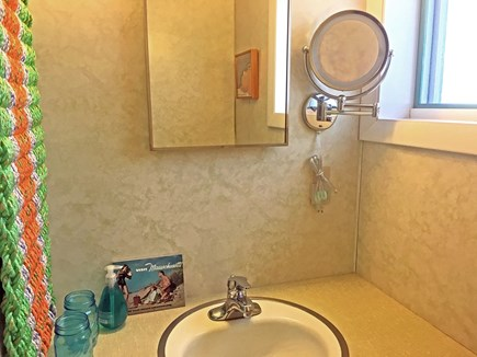 Wellfleet Cape Cod vacation rental - Lower level bathroom with shower