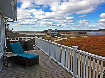 Wellfleet Cape Cod vacation rental - Deck with views to Wellfleet Bay