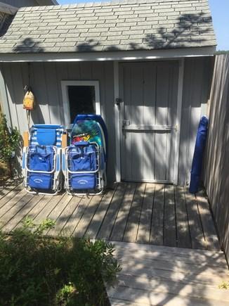 Wellfleet Cape Cod vacation rental - Beach chairs, boogie boards, sun umbrella