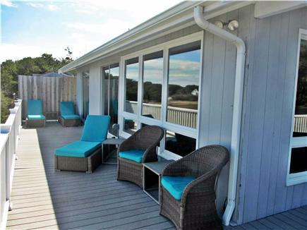 Wellfleet Cape Cod vacation rental - Lots of comfortable deck furniture