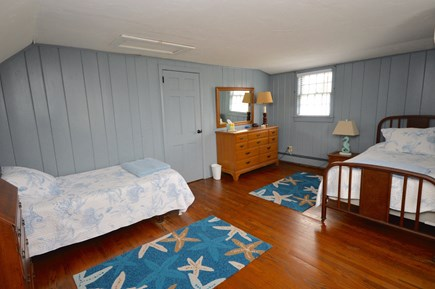 East Orleans Cape Cod vacation rental - Upstiars bedroom with AC 2 twins