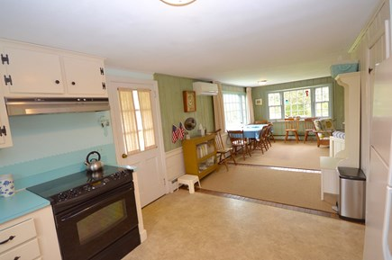 East Orleans Cape Cod vacation rental - Full Kitchen with view of dining room