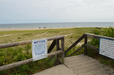 East Orleans Cape Cod vacation rental - These steps are for your use and a 1 minute walk away