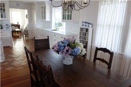 West Yarmouth Cape Cod vacation rental - The lovely dining area is in the kitchen...