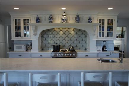 West Yarmouth Cape Cod vacation rental - The gorgeous kitchen is fully equipped and has an 11-foot island