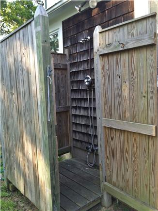 West Yarmouth Cape Cod vacation rental - Enclosed outdoor shower
