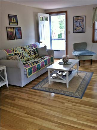 West Yarmouth Cape Cod vacation rental - Bright cheery living room