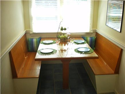 Eastham Cape Cod vacation rental - Dining area in kitchen with seating for 6