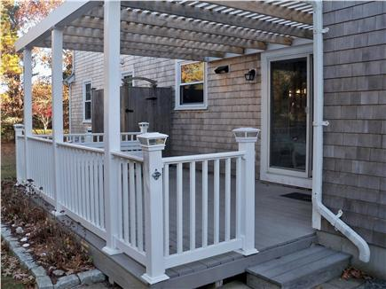 Eastham Cape Cod vacation rental - Deck and outside shower off breezeway