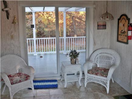 Eastham Cape Cod vacation rental - Breezeway with sliders to deck