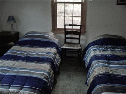 Eastham Cape Cod vacation rental - Downstairs bedroom 2 with twins