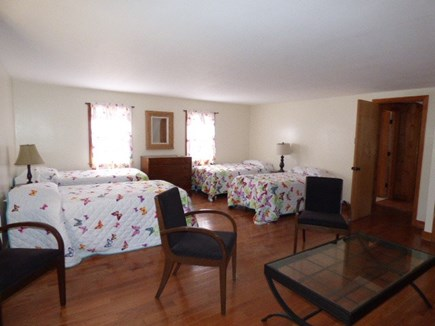 Dennis, Cape Cod Cape Cod vacation rental - 2nd Floor bedroom with 4 twins