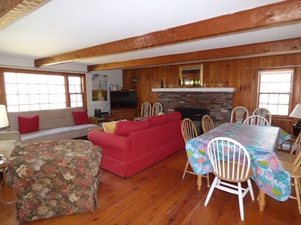 Dennis, Cape Cod Cape Cod vacation rental - Living room, dining