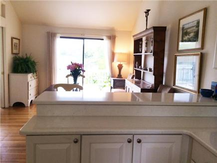Hyannis Cape Cod vacation rental - Kitchen view to dining room