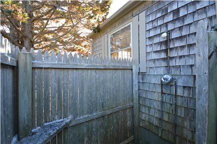 East Orleans Cape Cod vacation rental - Nice enclosed outdoor shower with full hot water