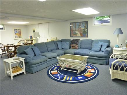 Orleans Cape Cod vacation rental - Family room with flat screen tv
