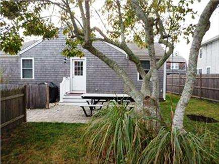 Falmouth Cape Cod vacation rental - Patio with picnic bench