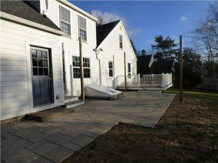 Dennis Cape Cod vacation rental - Large back yard with deck