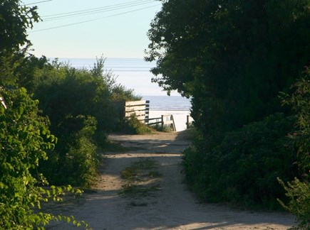 Eastham Cape Cod vacation rental - Path to beach