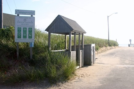 Eastham Cape Cod vacation rental - Entrance to beach
