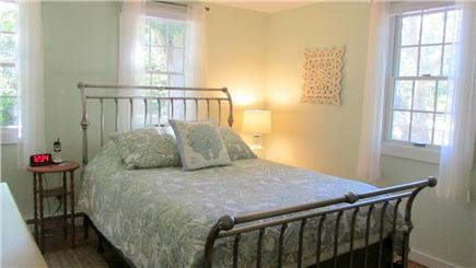 Eastham Cape Cod vacation rental - First floor soothing queen master bedroom w/ TV