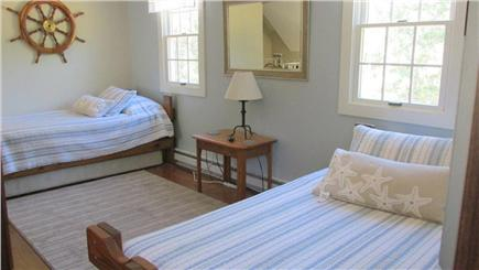 Eastham Cape Cod vacation rental - Loft area with two twin beds and a TV