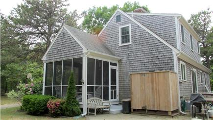 Eastham Cape Cod vacation rental - Outdoor shower and screened in porch