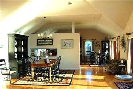 Yarmouth Cape Cod vacation rental - Open living,dining and kitchen all with gleaming hardwood floors!