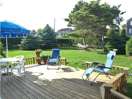 Chatham Cape Cod vacation rental - Relax on the deck.
