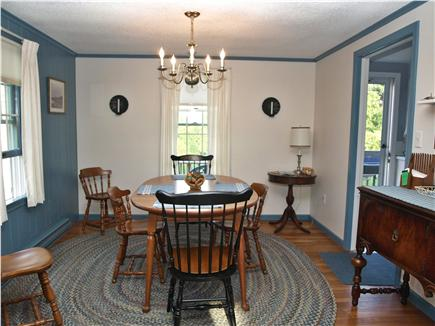 Chatham Cape Cod vacation rental - The dining area seats 8 comfortably.