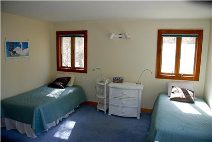 Paine Hollow/ South Wellfleet Cape Cod vacation rental - Twin-bedded room