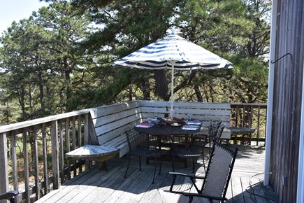 Paine Hollow/ South Wellfleet Cape Cod vacation rental - Deck
