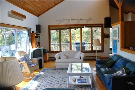Paine Hollow/ South Wellfleet Cape Cod vacation rental - Living room