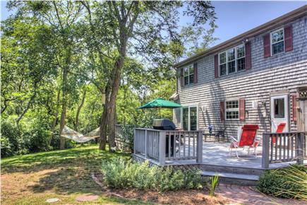 Eastham Cape Cod vacation rental - Back Yard & Deck