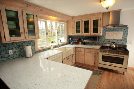 Chatham Cape Cod vacation rental - Updated Commercial Kitchen, Nantucket Farm Sink, Quartz Counters