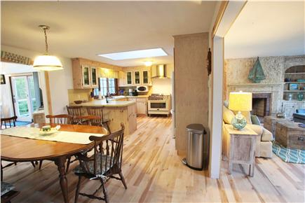 Chatham Cape Cod vacation rental - Open concept home with eat-in kitchen leading into living-room