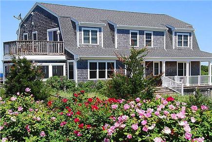 Truro Cape Cod vacation rental - Landscaped Yard
