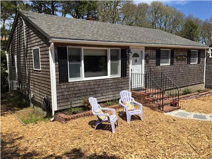 Chatham Cape Cod vacation rental - Photo taken 5/14/16 - closer view of front of house 1100 sqr.feet