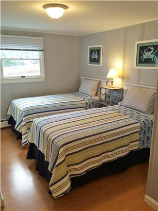 Chatham Cape Cod vacation rental - New Twin Beds - Guest Room - full closet &  1/2 bathroom