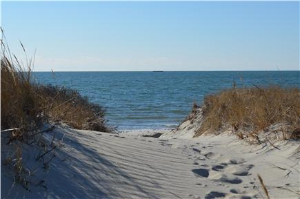 West Dennis Cape Cod vacation rental - Easy access to the private, association beach