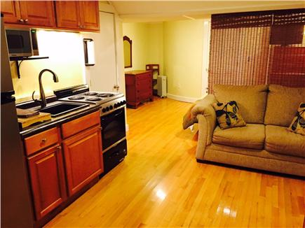 Pocasset Pocasset vacation rental - The studio apartment can be used combined w/main or separate