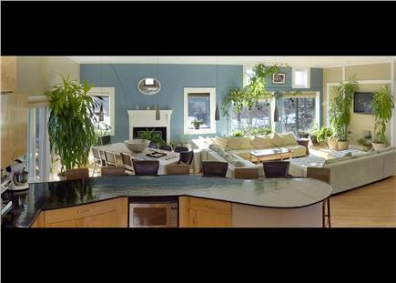 Pocasset Pocasset vacation rental - Kitchen offers plenty of counter seating and great lighting