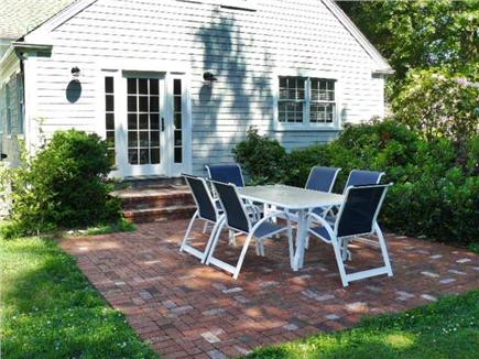 Yarmouth Port Cape Cod vacation rental - Patio off dining room