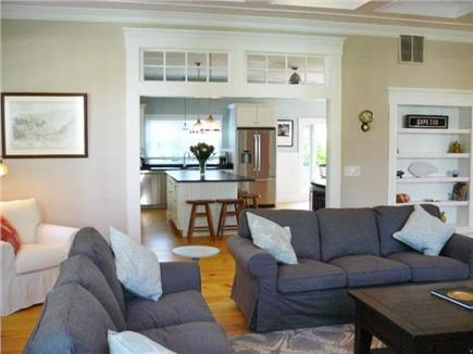 Yarmouth Port Cape Cod vacation rental - Lounge looking into the Kitchen