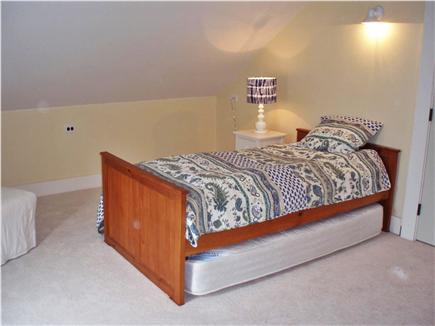 Chatham Cape Cod vacation rental - Upstairs double bedroom (twin with comfortable trundle)