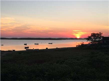 East Orleans Cape Cod vacation rental - Outdoor seating w/stunning views of Nauset Inlet & saltmarshes