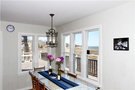 East Orleans Cape Cod vacation rental - Dining area with views