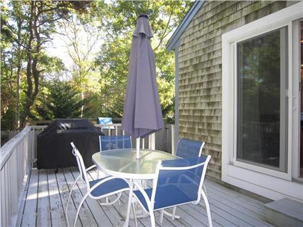 Brewster Cape Cod vacation rental - Enjoy the wonderful deck for outdoor dining or relaxation