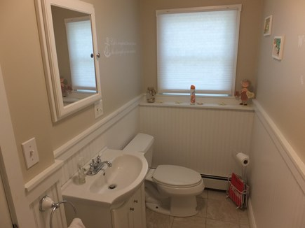 East Falmouth Cape Cod vacation rental - Bathroom 2 next to Family Room